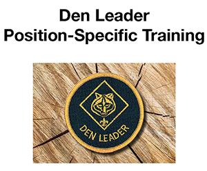 Cub Scout Leader Training